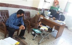 بازدید رئیس اداره تربیت بدنی و فعالیت های ورزشی استان از مدارس شهرستان بوشهر انجام شد
