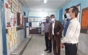 رئیس اداره تربیت بدنی آموزش و پرورش  استان بوشهر از مدارس دشتستان بازدید کرد
