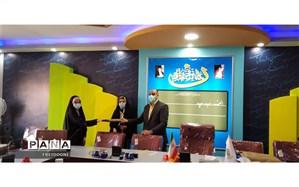 تقدیر از برگزیدگان استانی  جشنواره نوجوان سالم در منطقه چهار