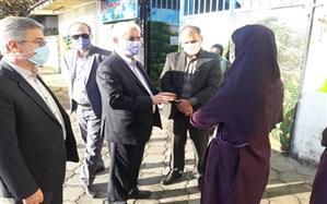 بازدید سرزده مدیرکل آموزش و پرورش استان گیلان از ادارات و مدارس شهرستان های لاهیجان و آستانه اشرفیه