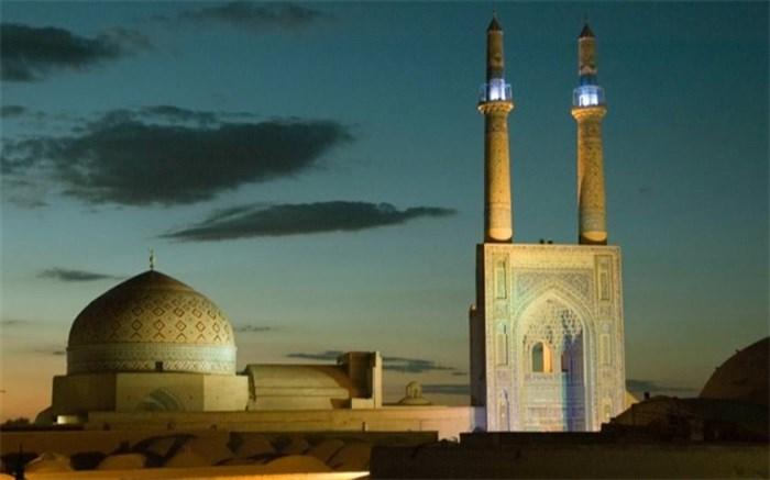 بزرگترین مناره های دنیا در مسجد جامع یزد