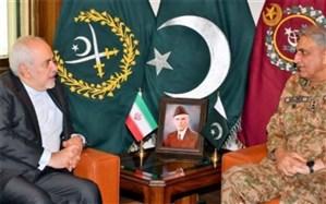دیدار و گفتوگوی ظریف با فرمانده ارتش پاکستان