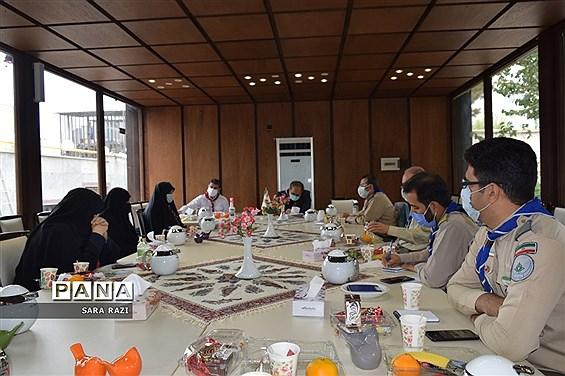 تشکیل اتاق فکر سازمان دانش آموزی شهر تهران
