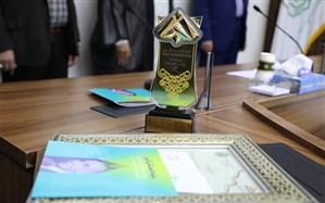 دانش آموز مشهدی، برنده جایزه بنیاد علمی نخبگان البرز شد