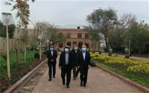 بازدید رئیس کمیته محیط زیست شورای شهر تهران از اردوگاه «منظریه» و عمارت «وثوقالدوله»