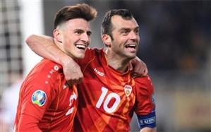انتخابی یورو 2020؛ مقدونیه برنده نبرد تاریخسازی شد