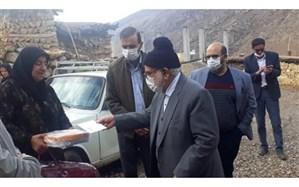 بازدید رئیس کمیته امداد کل کشور از مناطق محروم پشتکوه شهرستان فریدونشهر