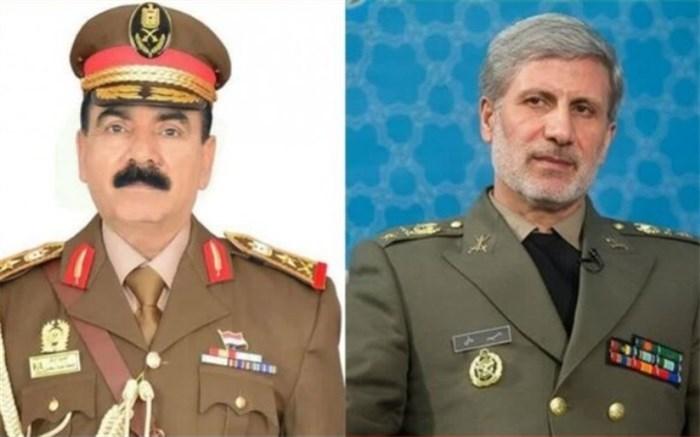 وزرای دفاع ایران و عراق