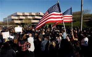 حامیان افراطی ترامپ تظاهرات میکنند