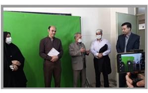 تهیه و تولید محتواهای آموزشی معلمان ابتدایی منطقه ورامین در برنامه آموزشی شاد