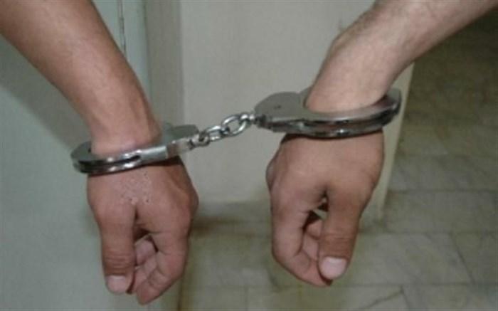 دستگیری سارقین
