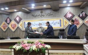 مراسم تودیع و معارفه مدیر کل آموزش و پرورش زنجان برگزار شد