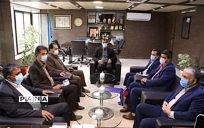 مدیر امور شعب بانک رفاه کارگران استان کرمان با مدیر کل آموزش و پرورش استان دیدار کرد