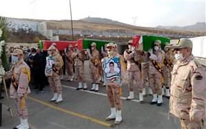 پیکر مطهر ۳ شهید مرزبانی در هنگ مرزی ارومیه تشییع شد