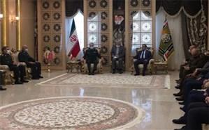سرلکشر باقری: سند همکاری دفاعی ایران و عراق به زودی امضا میشود