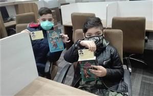 حضور دانش آموزان مدرسه آریان پایا منطقه9 در اندیشه سرای دکتر قریب