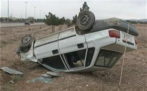 واژگونی پراید با یک کشته و 2 مصدوم در زنجان