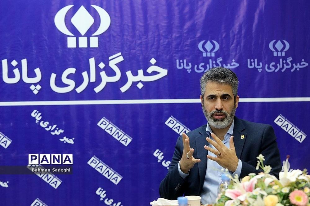 بازدید دبیرکل اتحادیه انجمن اسلامی دانشآموزان  از خبرگزاری پانا