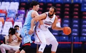 ستاره ایرانی در بین برترینهای لیگ بسکتبال چین