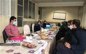 برگزاری جلسه گروه های آموزشی درس تربیت بدنی در منطقه چهار