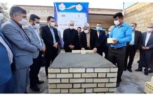 آغاز خشتگذاری نخستین مدرسه طرح آجر به آجر در خوزستان