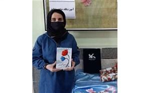 کسب عنوان اول کشوری دانش آموز اندیمشکی درجشنواره مهرواره شعرآفرینش