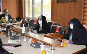 جلسه مدیران مدارس متوسطه دوره دوم دخترانه در منطقه ۲