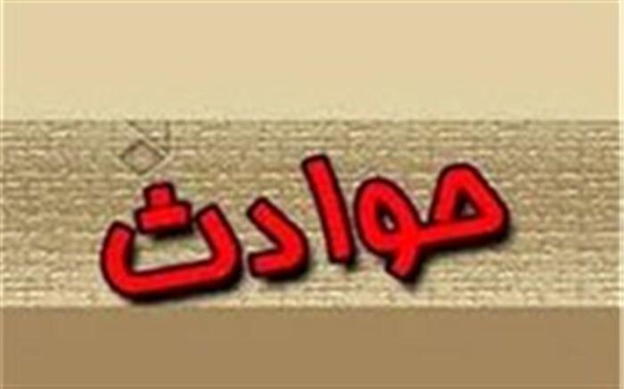 برخورد قطار مسافری رشت مشهد با یک قطار باری