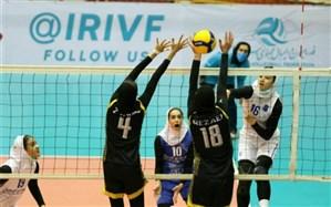 لیگ برتر والیبال زنان؛ اولین 3 امتیاز به قزوینیها رسید