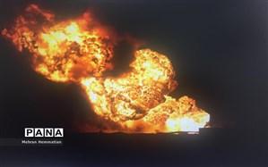 انفجار خط لوله گاز در شمال مصر