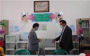 افتتاح باشگاه کتاب خوانی فایز دشتی در کانون فرهنگی تربیتی باقرالعلوم کاکی