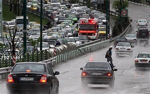 ترافیک صبحگاهی در معابر پایتخت؛ باران طول ترافیک را سنگین کرد