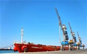 کشتی ۶۸ هزار تنی کالای اساسی در بندرچابهار پهلو گرفت