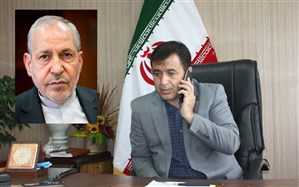 تبریک علی اصغر فانی، وزیر اسبق آموزش و پرورش به مدیرکل آموزش و پرورش استان زنجان