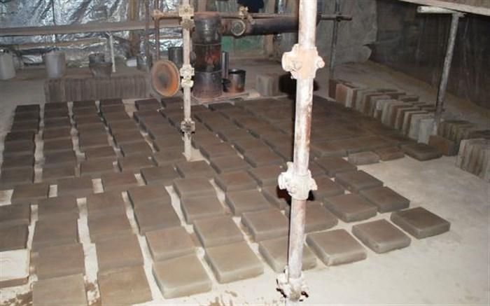 روشن شدن کورههای سنتی پخت آجر و کاشی در گنبد سلطانیه