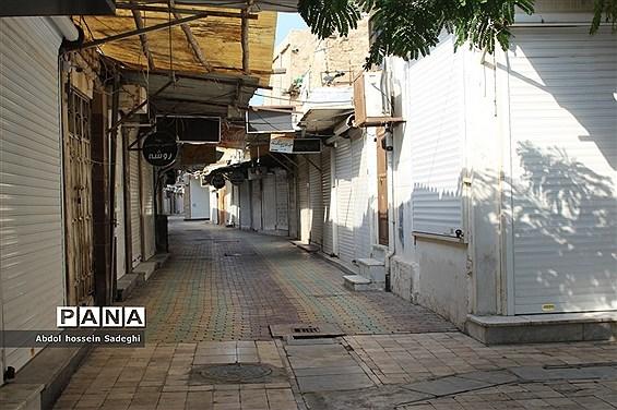 اولین روز محدودیت های شدید کرونایی در بوشهر