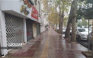 محدودیتهای کرونایی همهمه شهر ساری را کمرنگ کرد