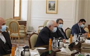 ظریف بر لغو تحریمها علیه سوریه تاکید کرد