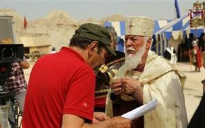 گریم مرحوم چنگیز جلیلوند در سریال تاریخی «سلمان فارسی»