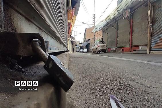 اصناف شهرستان میانه با مصوبات ستاد کرونا همگام شدند