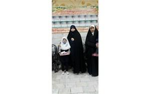 تقدیر  از رتبه اول مسابقات عکاسی از خانه های محمدی در منطقه14