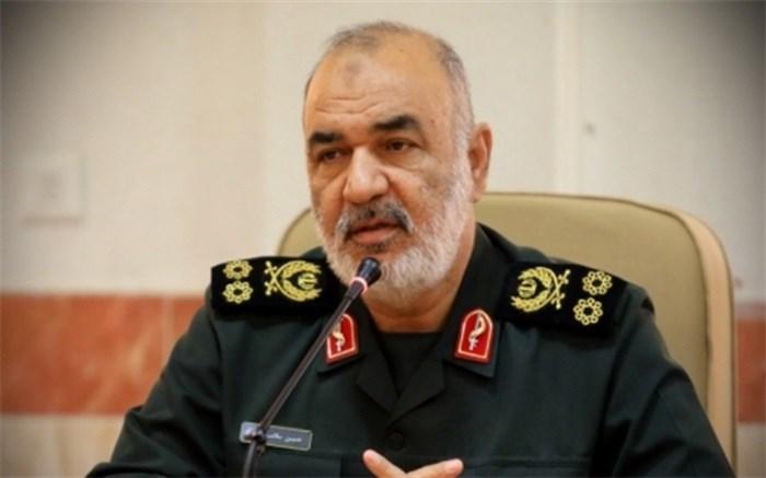 سردار سلامی : مردم ایران دشمن را با آراء خود موشکباران خواهند کرد