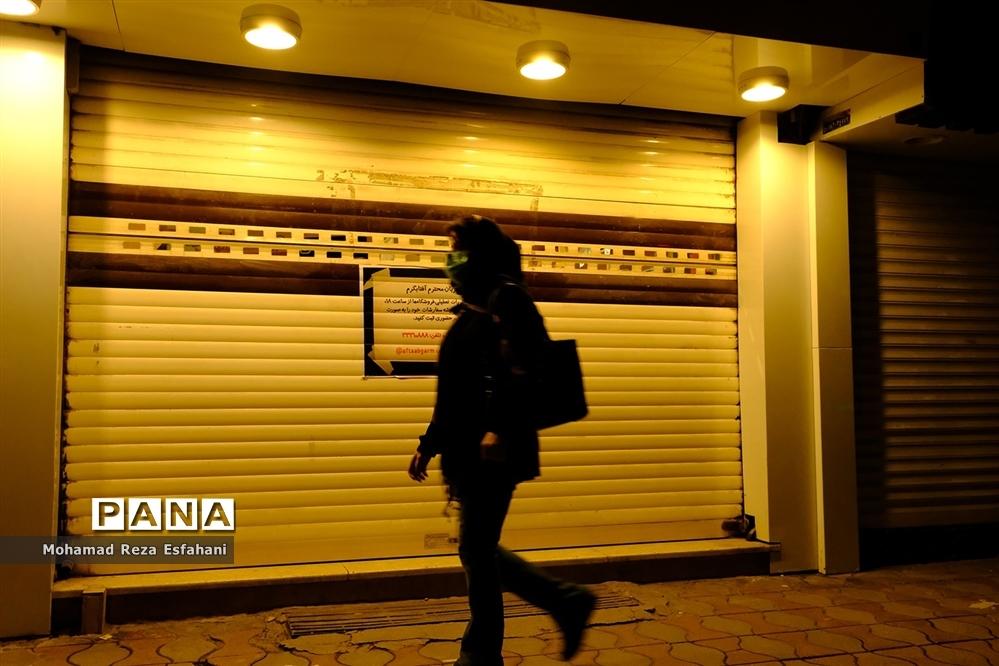 شهر نیمهتعطیل ساری و محدودیتهای کرونایی