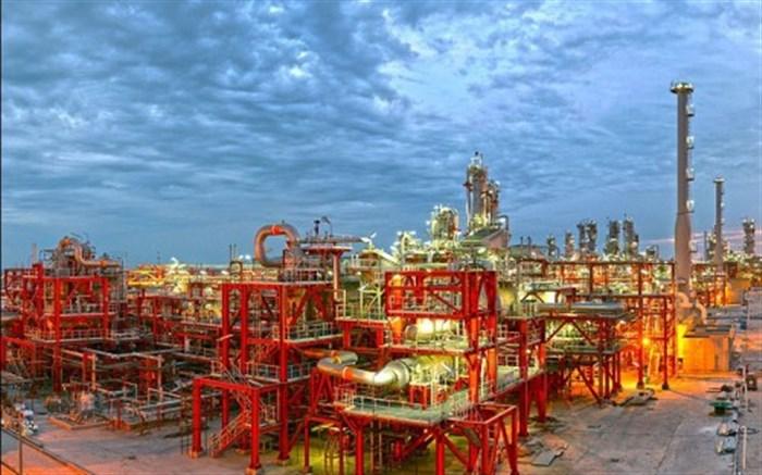 افتتاح پروژه نفتی