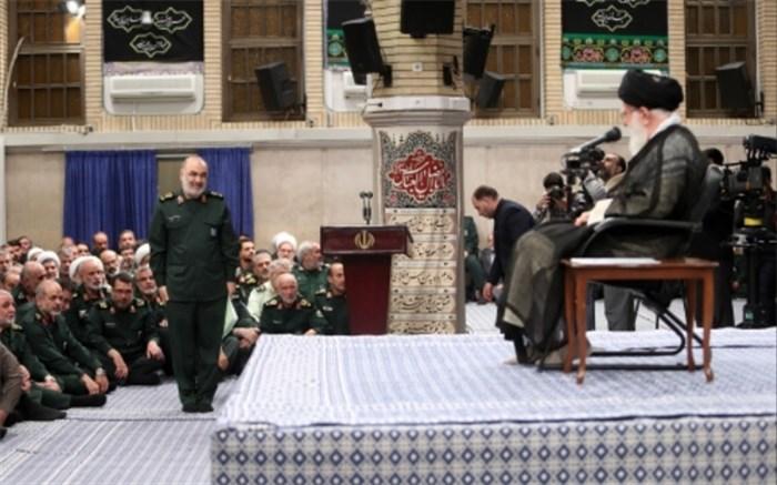 رهبر انقلاب سردار سلامی