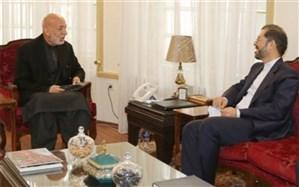 سخنگوی وزارت خارجه ایران با حامد کرزی دیدار کرد