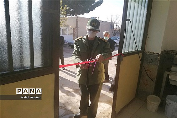 افتتاح کارگاه اقتصاد مقاومتی در روستای تقاب  شهرستان خوسف