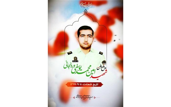 شهید مدافع وطن