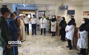 قدردانی مسئولان  از کادر درمان مرکز خدمات جامع سلامت شهرستان خوسف