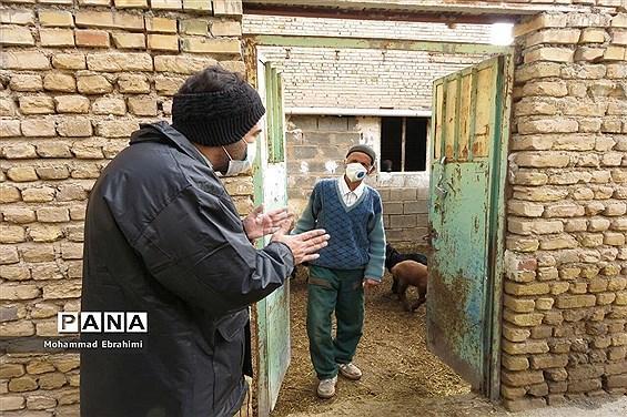 افتتاح کلینیک سیار دامپزشکی بسیج مهندسین سپاه ناحیه سمنان